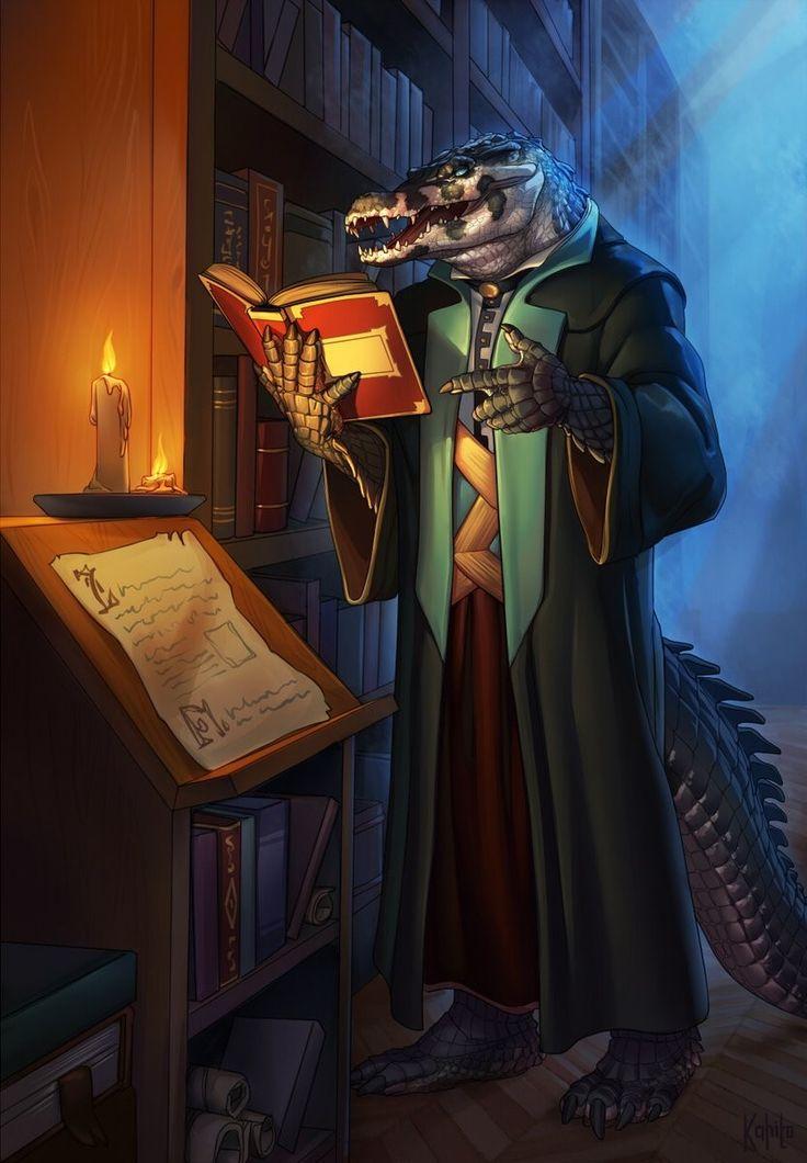 saurian; Lizardfolk; D& pathfinder; wizard; priest; mage ...