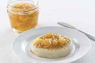 Peach freezer jam using sure jell fruit pectin