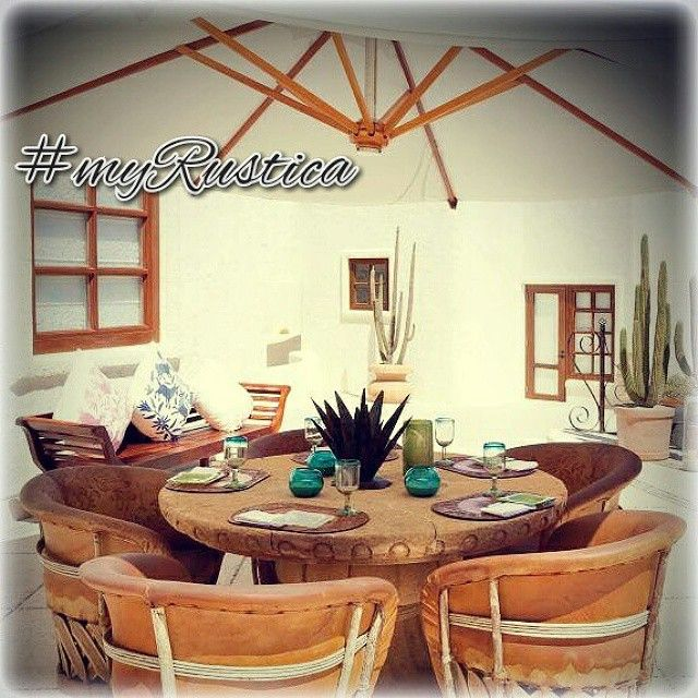 Meksykanskie meble rustykalne w stylu equipal. #rustykalnewnetrza #rustykalnemeble #meksykanskieakcenty