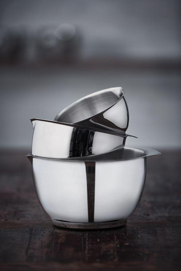 Klassiska Margrethe-skålen nu i stål ‹ Dansk inredning och design