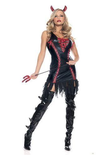 Ucuz kadın moda seksi Cosplay cadılar bayramı kostümü seksi şeytan kadın Halloween kostüm partisi f11338, Satın Kalite   doğrudan Çin Tedarikçilerden: ürün içerir:bu ürün içerir setleri: elbise tek, ağırlığında 0.35kgürün malzeme:kumaş: gerekir sağlık likra kumaş,