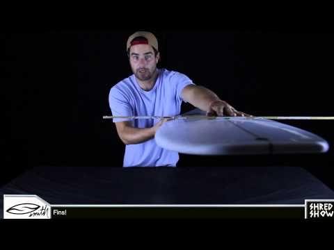 Shred Show - Chris Ward, Kolohe Andino, the V2 Shortboard and fins.