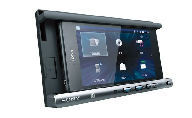 Sony XSP-N1BT - CD Smartphone Cradle Receiver with Bluetooth | Car Audio Direct