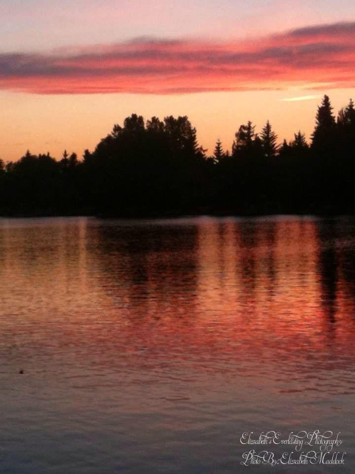 Gorgeous sunset! Canada
