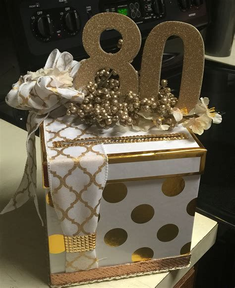 Card Box Ideas For Birthday Parties