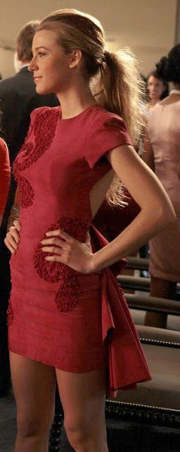 Serena van der Woodsen style: Petty in Pink