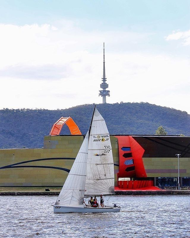 "For Instagrammer @cecil1958 ""summer is for sailing"". What are some of your favourite things to do in Canberra during the summer season? #visitcanberra #onegoodthingafteranother"
