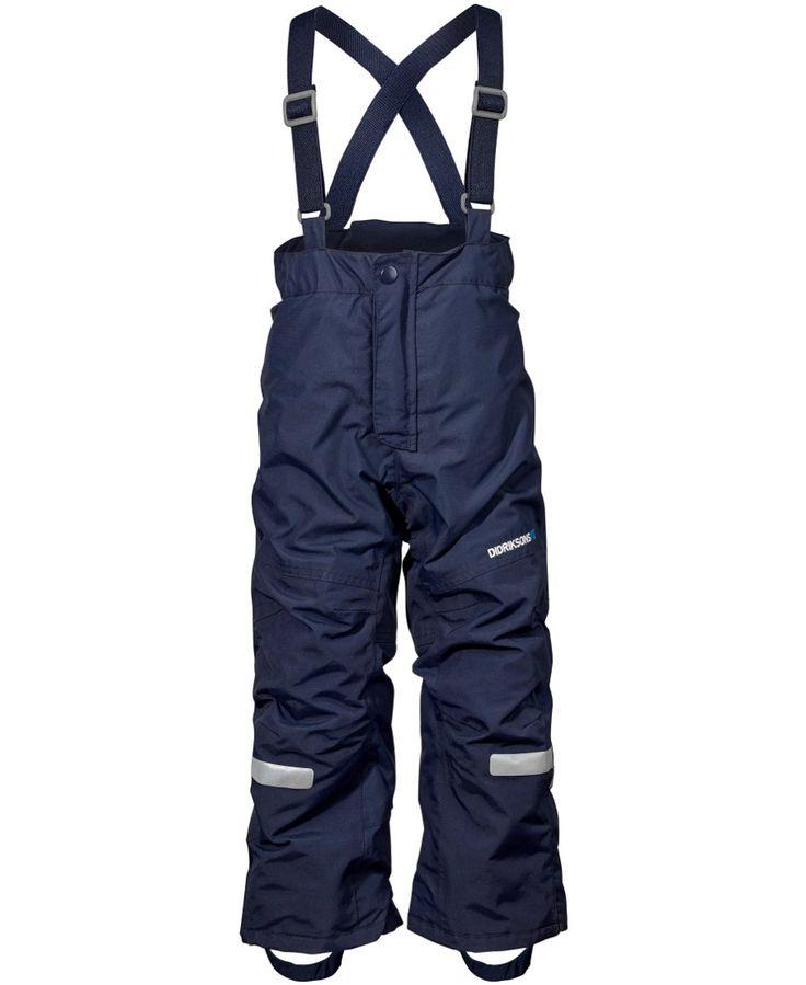 Didriksons Idre Kids Ski Pants - Navy