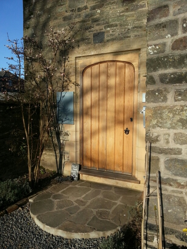 This solid #Oak #door was made and installed for a client in #Devon & 20 best Doors images on Pinterest | Devon Carpentry and Wood workshop