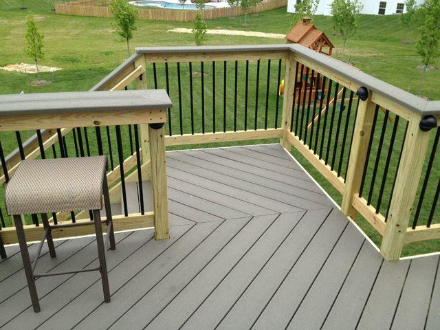 Deck Bar Railing Outdoor Decor Pinterest Deck