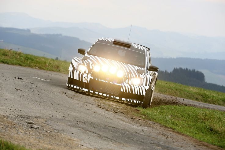 The zebra is seen as a creature of prey in the wild, but the ŠKODA Fabia R 5 is clearly an exception to the rule.