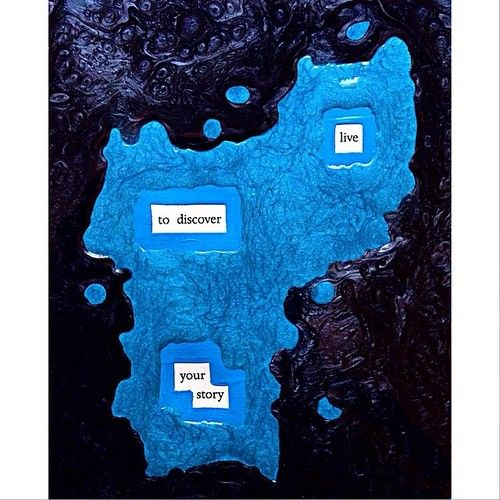 Uncharted Waters: Make Blackout Poetry, Blackout Poetry, Poetry