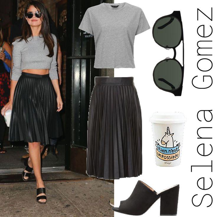 Selena Gomez Style Vacaciones, Salida a comer, viernes de oficina.