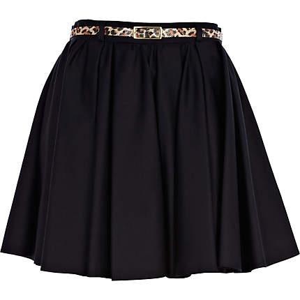 black skater skirt skirts sale fashion