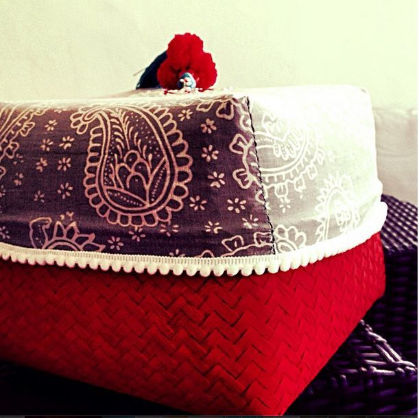 Gift box for Christmas by Tan Living.