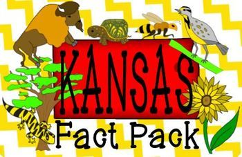 KANSAS DAY STATE SYMBOLS FACTS GAMES POSTERS PRINTABLES RESEARCH This product was designed to make your celebration of Kansas Day both fun and educational! It covers TWELVE fun facts through a variety of means, all with cute clipart to serve as memory anchors.