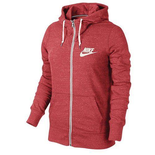#Nike Gym Vintage Full-Zip Hoodie Womens