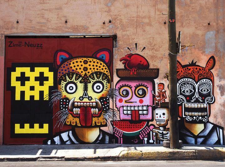 Street art mexicain