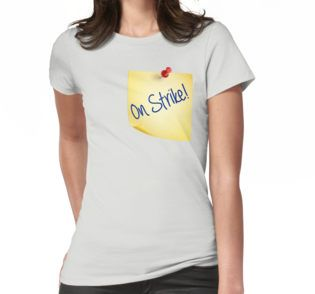 On Strike http://www.redbubble.com/fr/people/weetee/works/25304629-on-strike?asc=t&p=pencil-skirt @redbubble  #work #strike #law #office #travel #yellow #notes #write #handwritten #hand #font #blue #NoSexToday