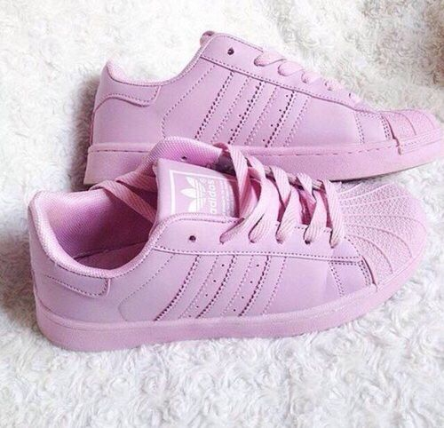 Imagem de adidas, pink, and shoes
