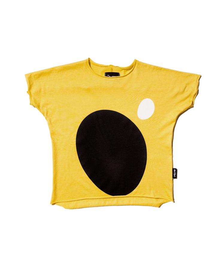 black oval  t-shirt