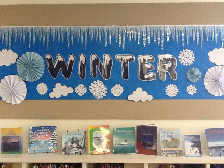 Library Displays Winter