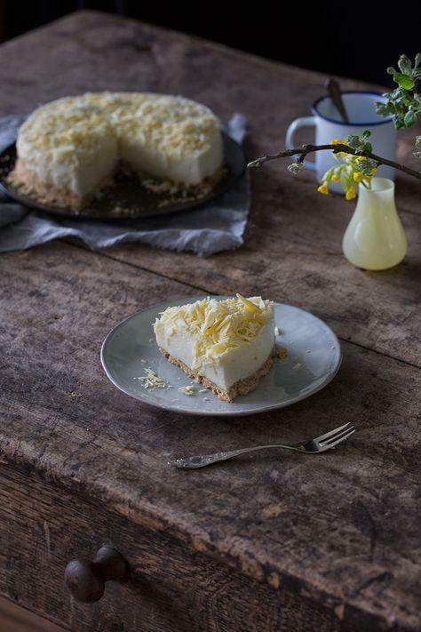 Zitronen Mousse-Torte