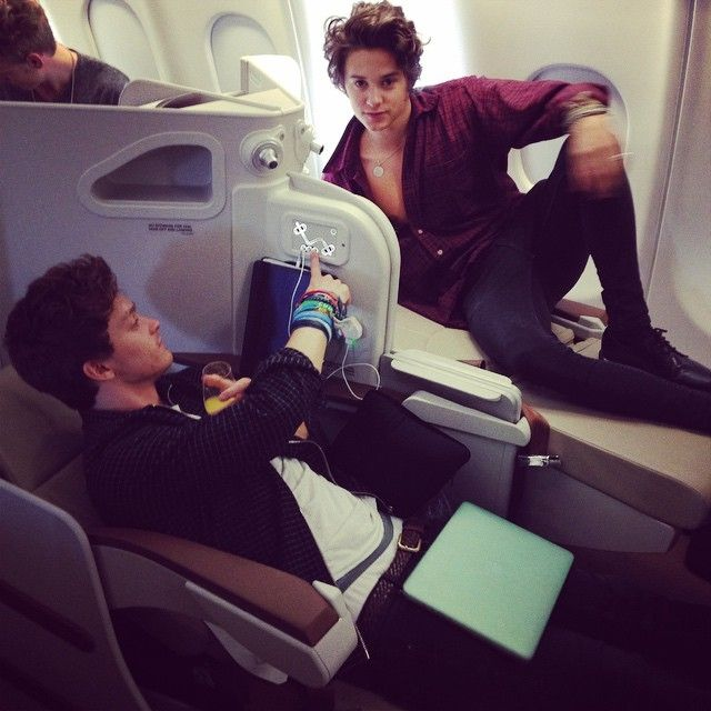 Connor Ball & sexy pose there Bradley Simpson