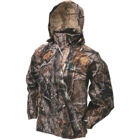 Frogg Toggs All Sports Camo (Green) Suit, Size: Large