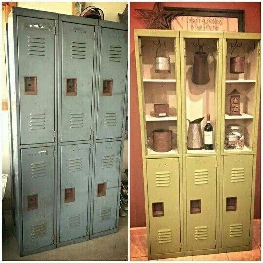 Very cool redo from old lockers