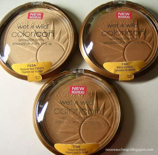 "Wet n Wild ColorIcon Bronzers for light-medium-dark skintones... I ♡ MINE IN ""TICKET TO BRAZIL"""
