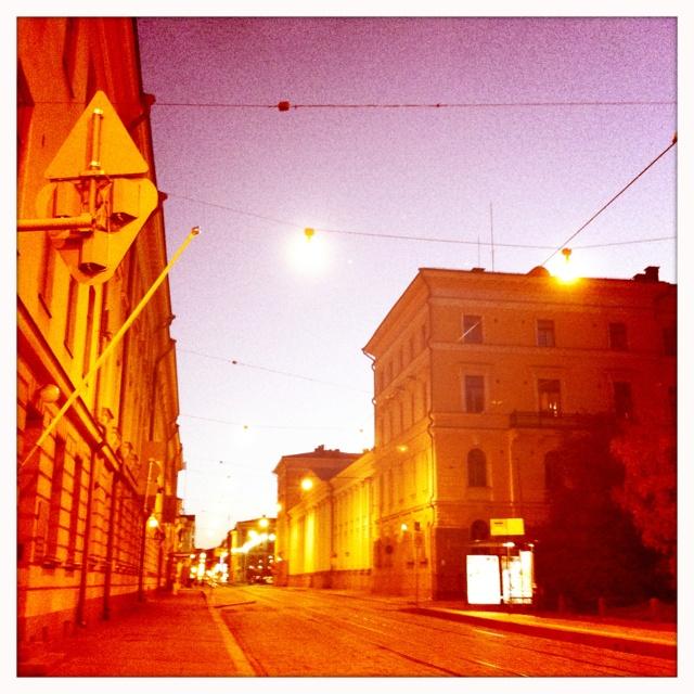 Midnight in Helsinki
