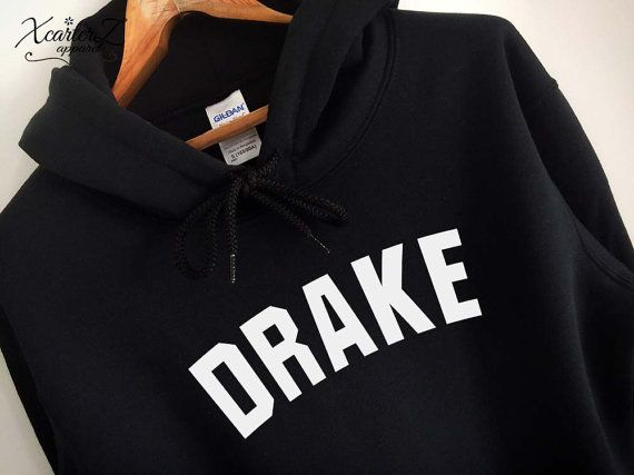 Drake Hoodie Drake Sweater Drake Sweatshirt Drake Fleece Drake Merch Soft Crewneck Sweater Unisex Women Girls Men Black/Grey/Navy XS-2XL#ad