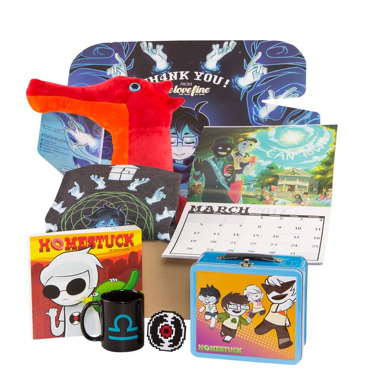 FOR FANS BY FANS:Homestuck Mystery Box