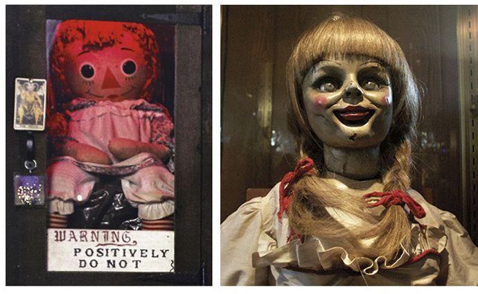 creepy+warren | Meet 'The Conjuring's' Real Lorraine Warren, and Her Occult Museum! -
