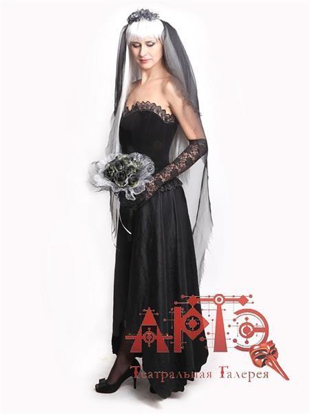 Костюм невесты вампира