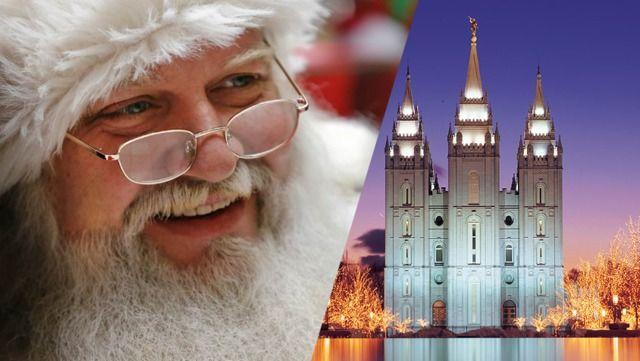 How are the temple and Santa Claus similar? These profound insights from two LDS apostles will help you see temple worship with new eyes!