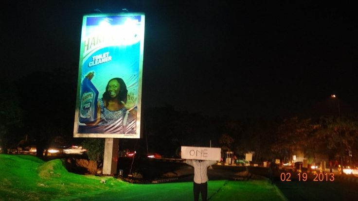 Our billboards are well lit at night, you do not have to worry about power outage, we have the technology.