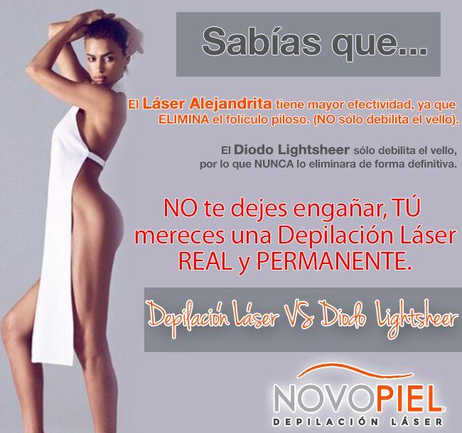 Conoce la principal diferencia entre Depilación Láser Alejandrita VS Diodo Lightsheer, NO te dejes ENGAÑAR... Recuerda TU eres la MEJOR inversión!!
