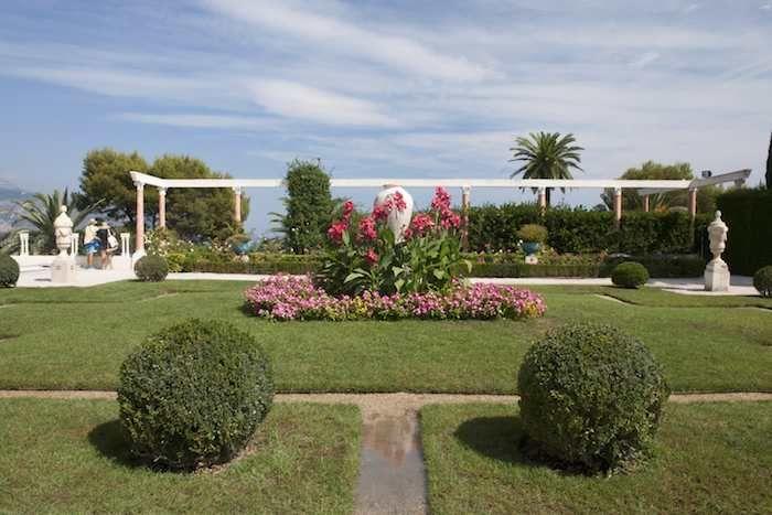 Villa Rothschild's gardens