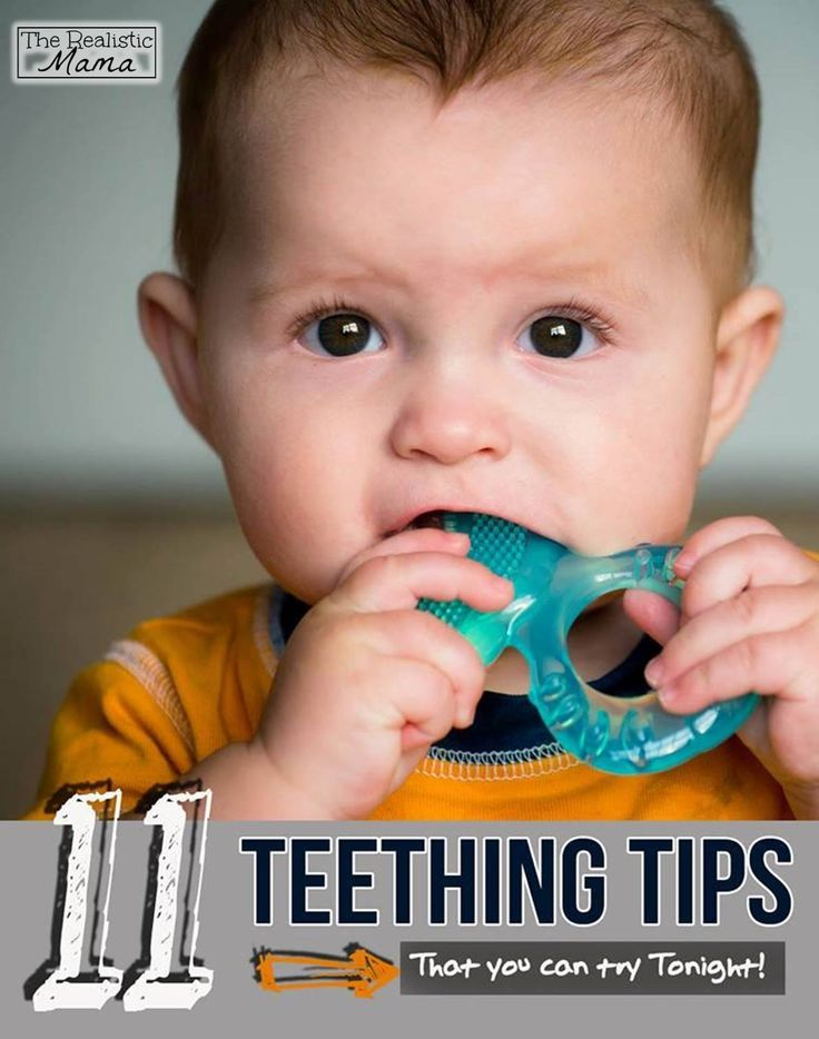 11 Teething Tips That Your Can Try Tonight - I'm going to try #3