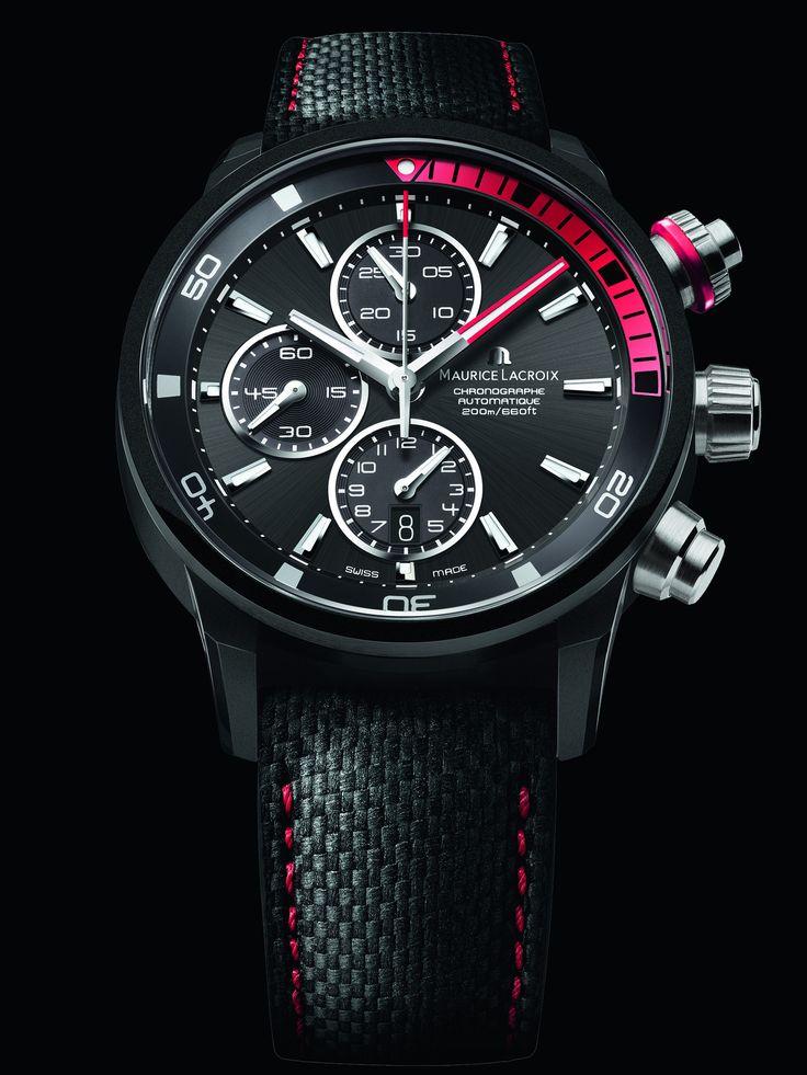 MAURICE LACROIX Pontos S Extreme watch by Maurice Lacroix #MauriceLacroix Swiss Watchmakers  #horlogerie #pontos @calibrelondon