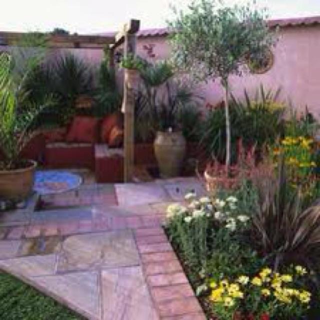 Courtyard Garden Ideas Uk 108 best mediterranean look images on pinterest | flowers, flower