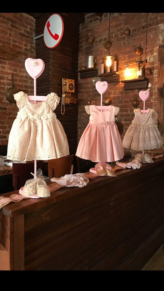 Flower Baby Shower Centerpiece Dress Hanger by Design327 on Etsy