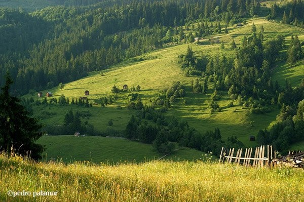 Country Side in Maramures, Romania. Photo by Pedro Palamar.