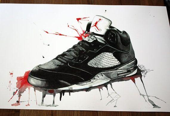 Mejores 100 Fondos De Nike: 73 Mejores Imágenes De Shoe Art En Pinterest