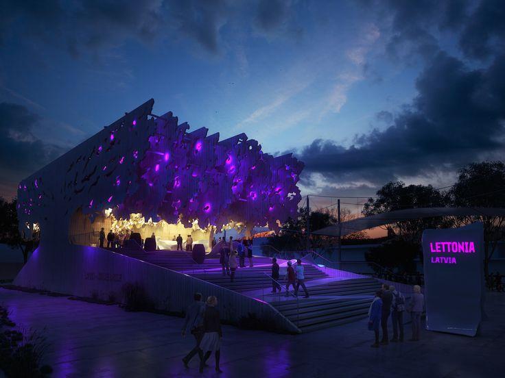 Latvian Pavilion #Expo2015 #ExpoMilano2015 #LatviaExpo2015 #NatureInsideLatvia #architecture