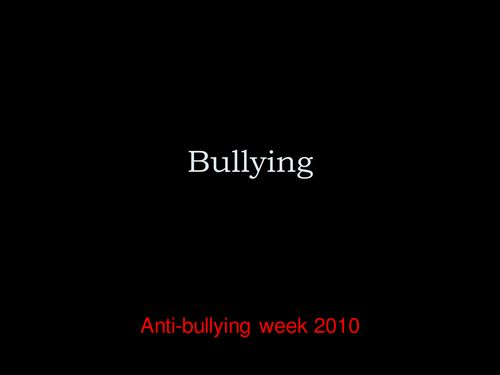 Bullying Presentation.ppt