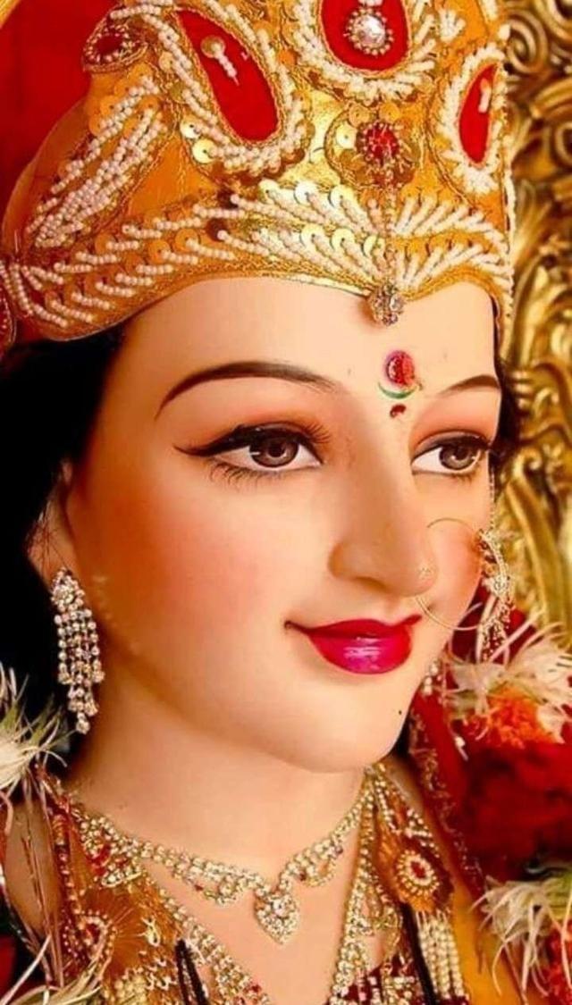 Maa Durga Goddess Durga Goddess Navratri Puja Durga Puja