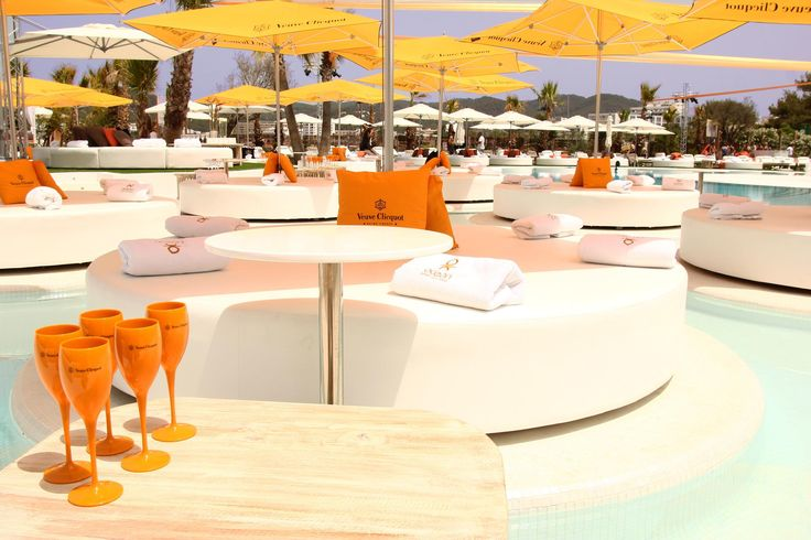 Ocean beach club ... one of the best pool parties in Ibiza